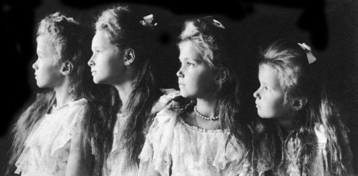 Latest posts of: Sophia_Skymind  Anastasia and sisters - Nicolas II and Alexandria's family killed during the Russian Revolution