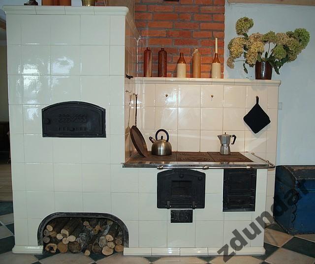 kuchnia kaflowa piec ciepły kominek kafle zdun (5480885459   -> Kuchnia Kaflowa Schemat