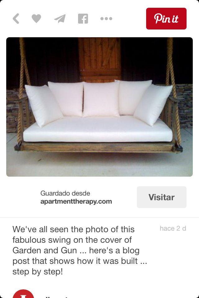 M s de 25 ideas incre bles sobre sillones colgantes en - Sillon hamaca colgante ...