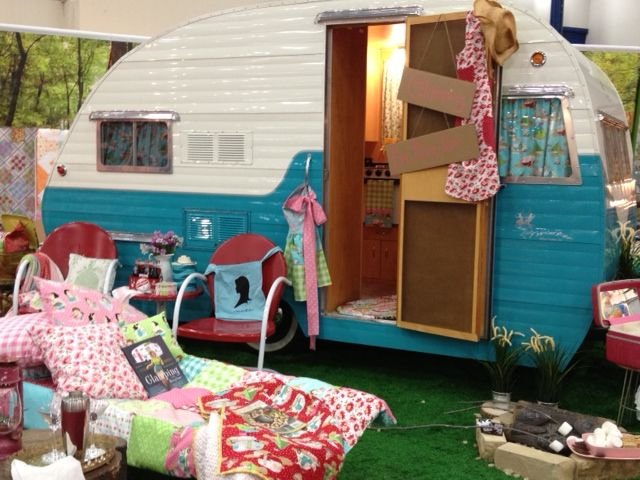 Elegant We Have The Glamping Campers By Moda Fabric In Stock Online At Thimbelinau0027s  Quilt Shop,