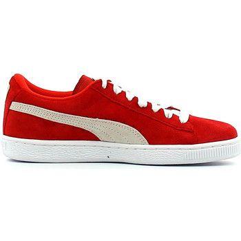 legendarische Puma suede jr jongens sneakers (Rood)