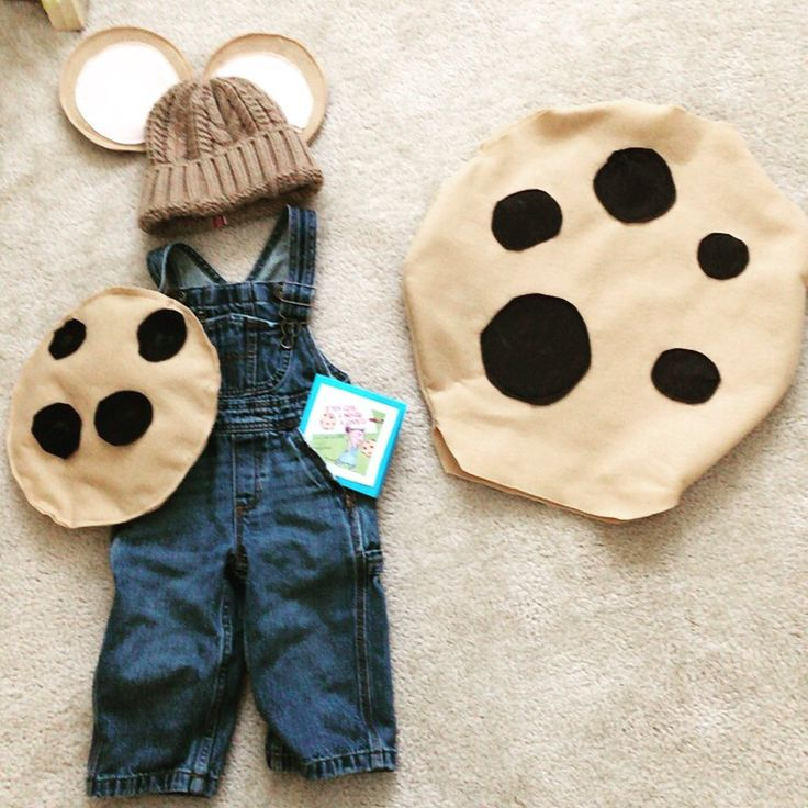 Sibling costume idea. Very simple and easy to make. Toddler and infant costumes