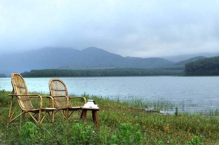 A #serene sit out down by the #Chittar #lake at #Ananya #Resort - A #RareIndia #retreat Read More: http://bit.ly/1uvcFff