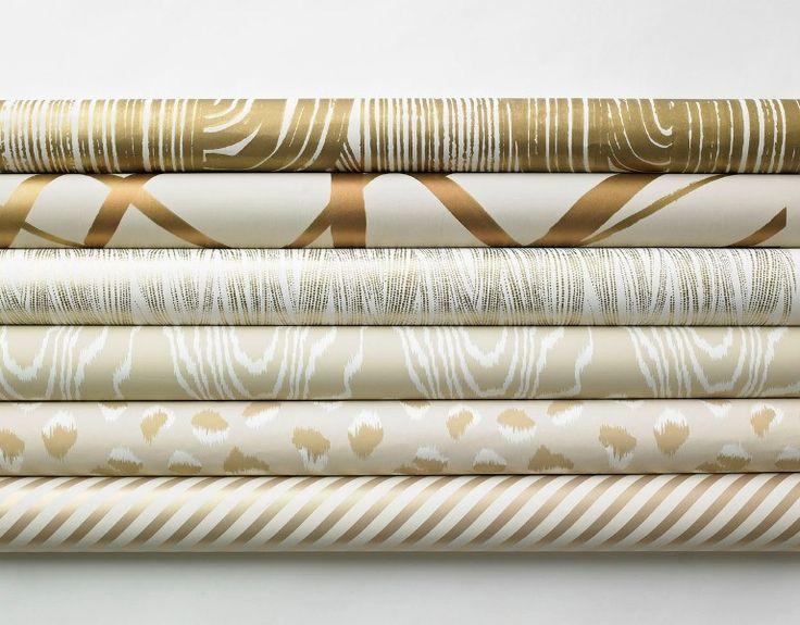 Metallic Kelly Wearstler for Lee Jofa Wallpaper Rolls