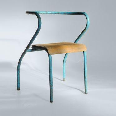 ann es cinquante mobilier structure tubulaire jacques hitier chaise structure tubulaire. Black Bedroom Furniture Sets. Home Design Ideas