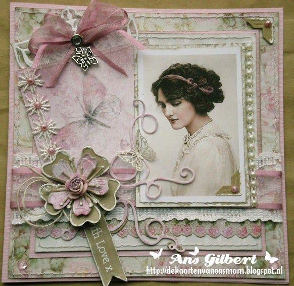 De kaarten van ons Mam: ...Lily Elsie ..