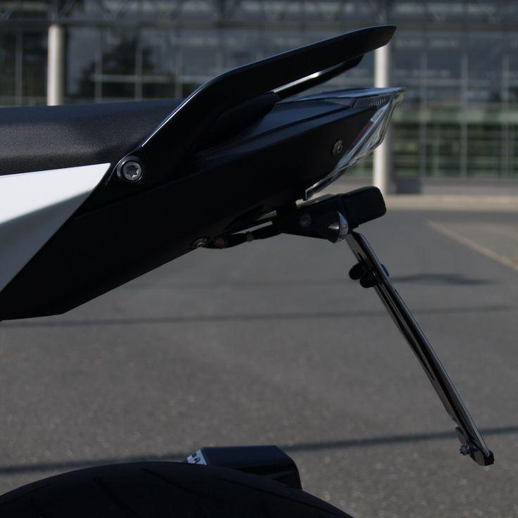Kennzeichenhalter für BMW R 1200 R zur Montage der originalen Blinker, ab 119 €