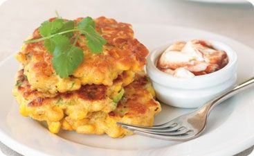 corn fritter #easiyo