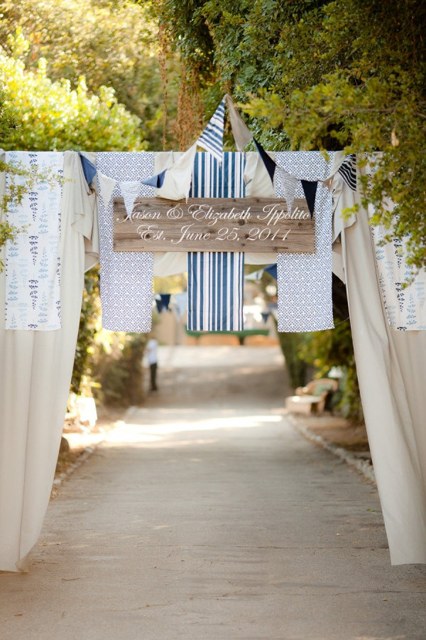 a grand welcome to this backyard party  Photography by theyoungrens.com, Event Design by http://extraordinaryevents.net: Floral Design, Backyard Parties, Events Design, Parties Ideas, Diy Decor, Adoption Parties, Wedding Banners, Style Me Pretty, Wedding Signs