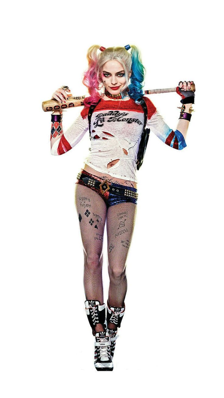 My goal...to get fit enough to be Harley Quinn for Halloween...