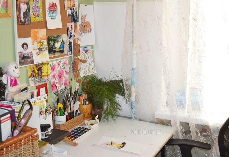 Prokhorovaart- blog: Мое рабочее место