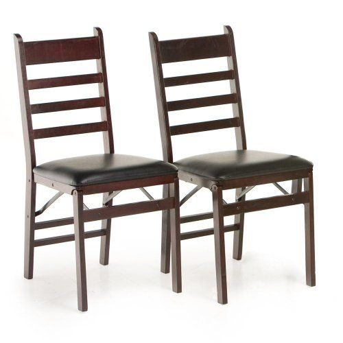 Cosco Woodcrest Folding Chair 2 Pack