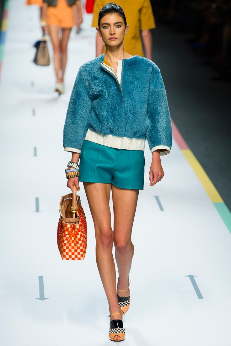 Fendi Spring 2013 RTW: Summer 2013, Ss2013, 2013 Ready To Wear, S S 2013, Fendi Spring, Fashion Week, Spring Summ 2013, Spring 2013, Ss 2013