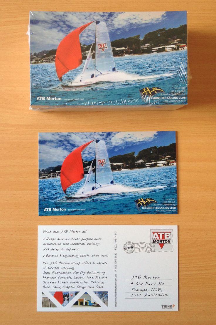 postcards designed by think graphic #thingraphiccommunication #atbmorton