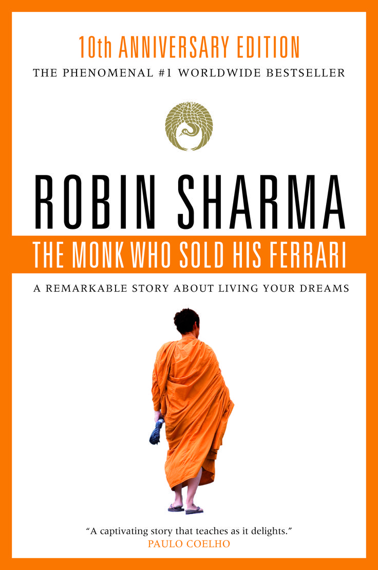 A reminder that life in the fast lane with material wealth isn't always the path to happiness. http://www.robinsharma.com/store/books/HardcoverandPaperback/the-monk-who-sold-his-ferrari