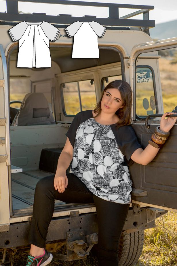 Serengeti Dreams: 8 New Plus Size Women's Sewing Patterns                                                                                                                                                                                 More
