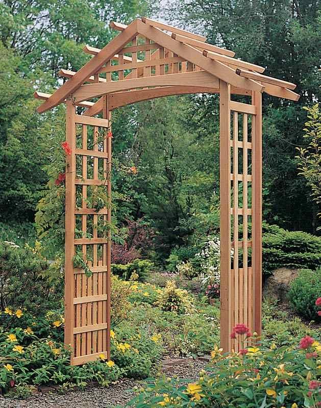 Garden Arbor Plans Designs Markcastroco