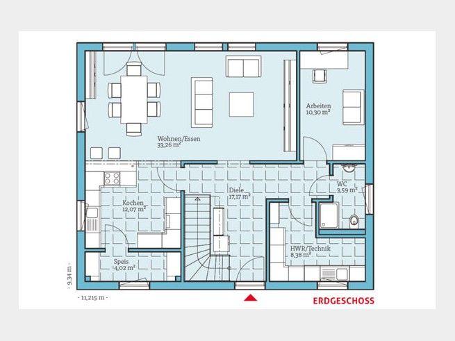 80 besten Grundrisse Bilder auf Pinterest Hausbau, Garten und - badezimmer grundriss planen