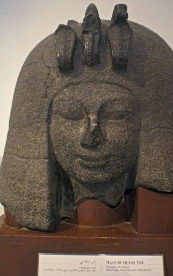 Egyptian Museum, Cairo - Egypt. Queen Tiye.
