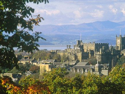 Lancaster, with the 11th century Lancaster Castle, Lancashire, UK-WANT TO GO HERE SO BAD!!