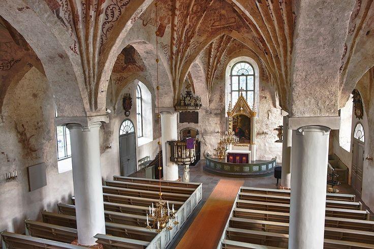 Church in Siuntio, Finland #Finland