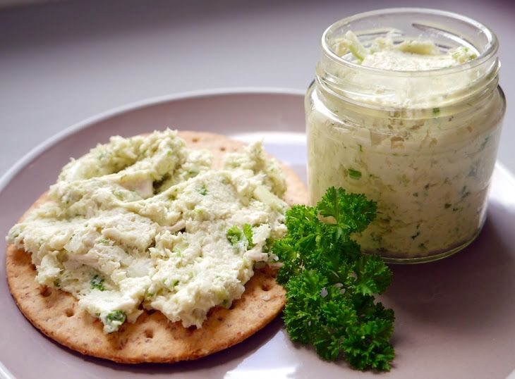 Chicken Salad Recipe Salads with chicken breasts, spring onions, pickles, lemon juice, mayonnaise
