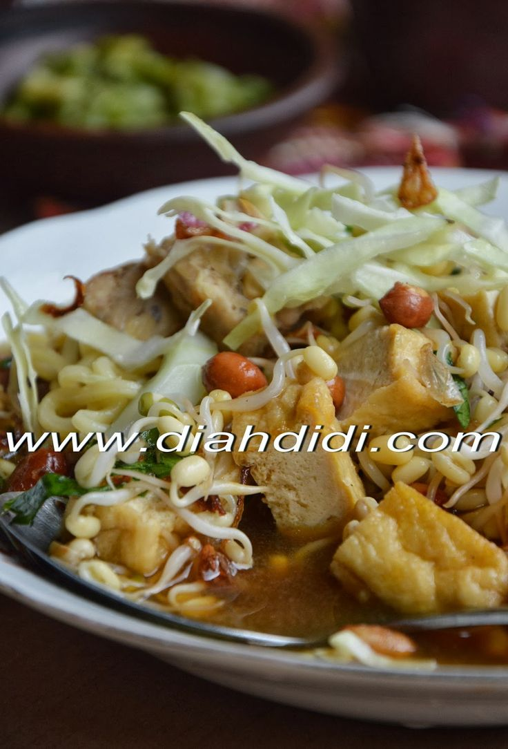 Diah Didi's Kitchen: Tahu Acar Solo..Kuahnya Asem Segerrr..! ^^