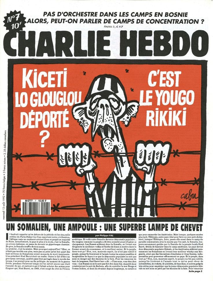 27 best Charlie Hebdo 1992 images on Pinterest