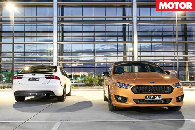 Ford falcon sprint xr8-and xr6 turbo