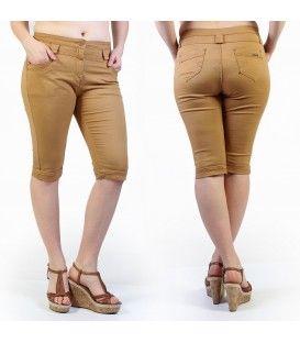 Je vous propose un pantacourt caramel avec 2 poches à l'avant et 2 poches à l'arrière. Il est disponible en grande taille de la taille 42 à 50 pour un prix de 19,99€.  #Short #HollyMode #RondeEtSexy #grande #taille #femme #caramel http://www.hollymode.fr/fr/grandes-tailles/206-pantacourt-grande-taille-caramel-fashion-vetement-pas-cher-tendance-sexy-.html