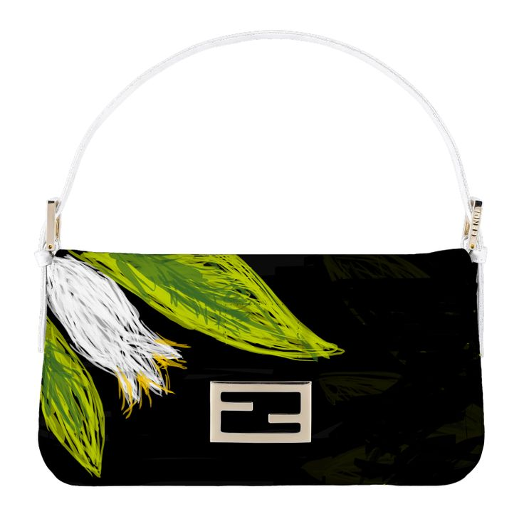 Ingrid of The Bag Hag Diaries virtual Baguette, created with Fendi's new myBaguette tablet app