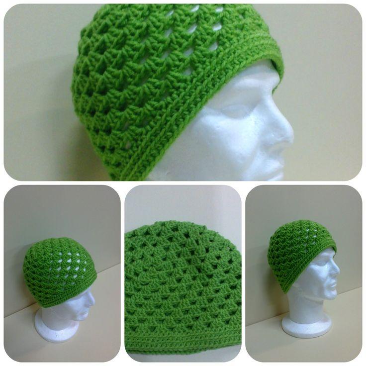 Granny Square Hat Crochet Tutorial