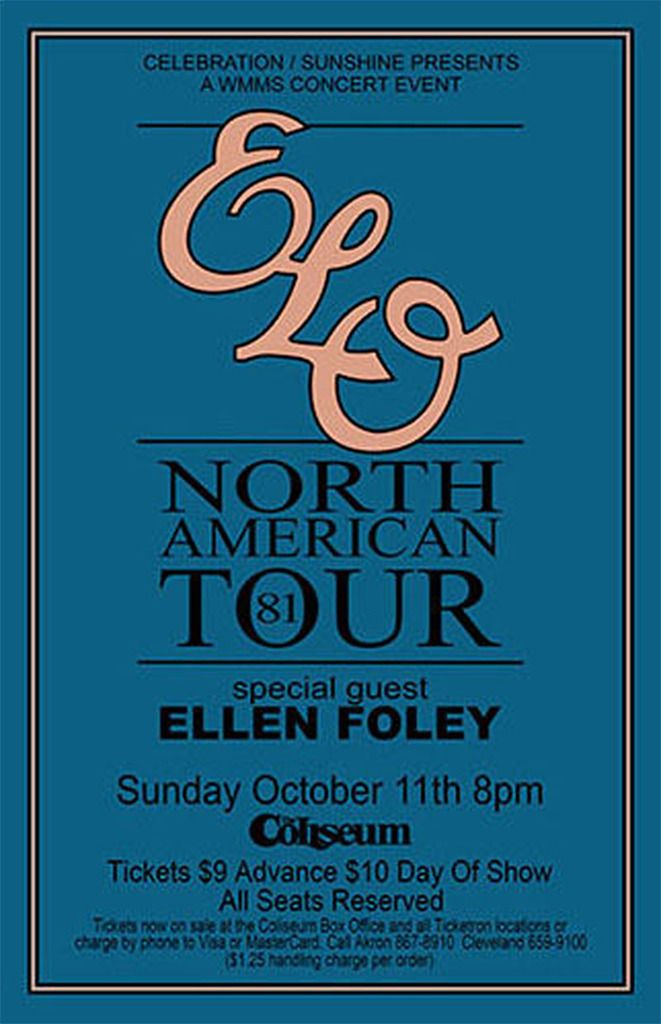 ELO 81 north american tour