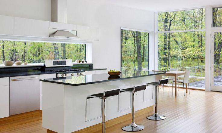 Check how much light your windows reflect to stay cool during the summer months. Image Via: River Architects
