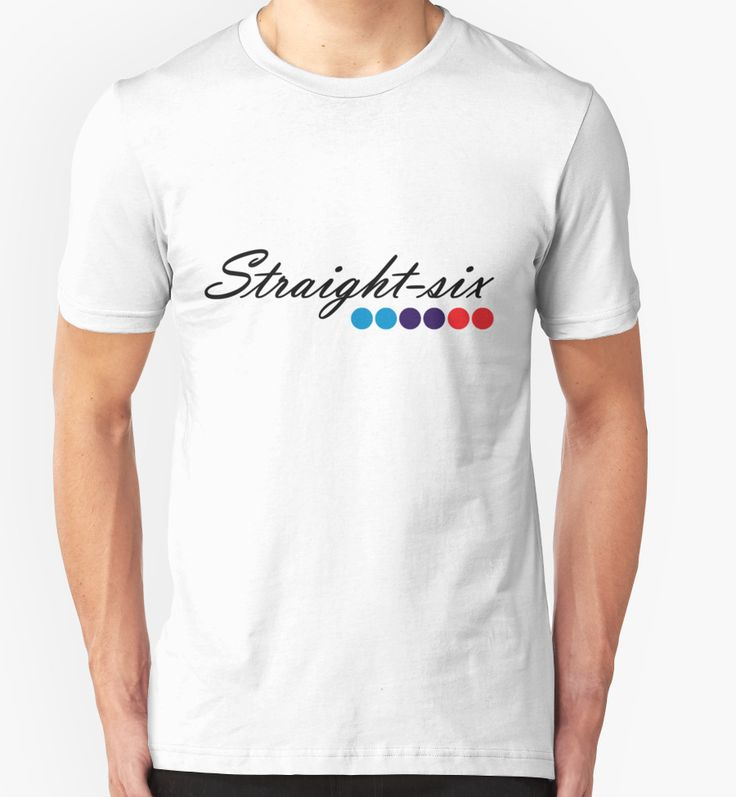 bmw straight six shirt