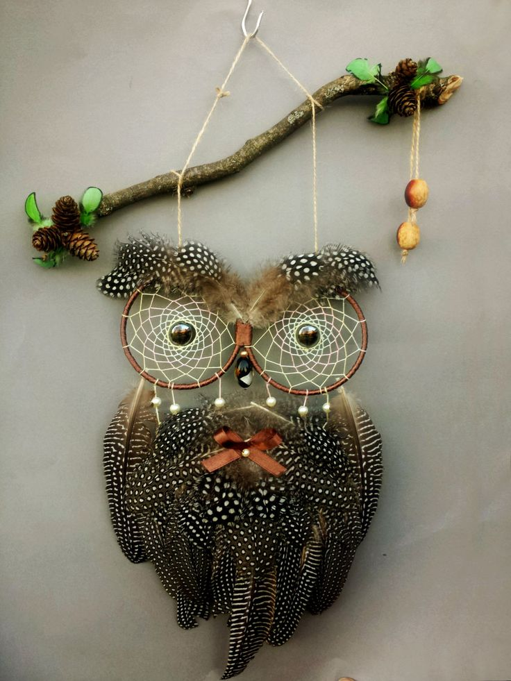 25 Best Ideas About Owl Dream Catcher On Pinterest