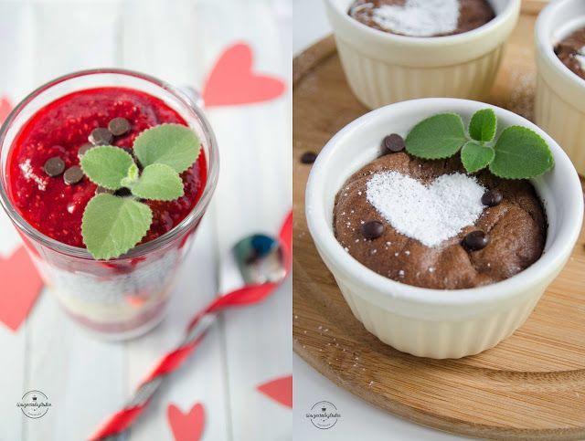 Wszędobylskie: Dwa pomysły na walentynki: zdrowy deser z chia i s...