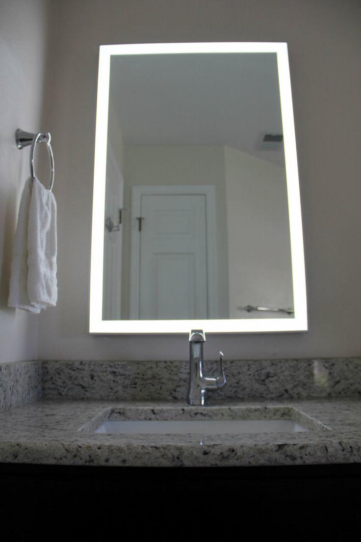 Lighted Image - LED Illuminated Mirror with Aluminum Frame, $270.00 (http://www.lightedimage.com/led-illuminated-mirror-with-aluminum-frame/)