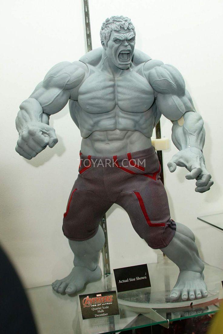 Neca 1/4 Scale Age Of Ultron Hulk prototype Figure