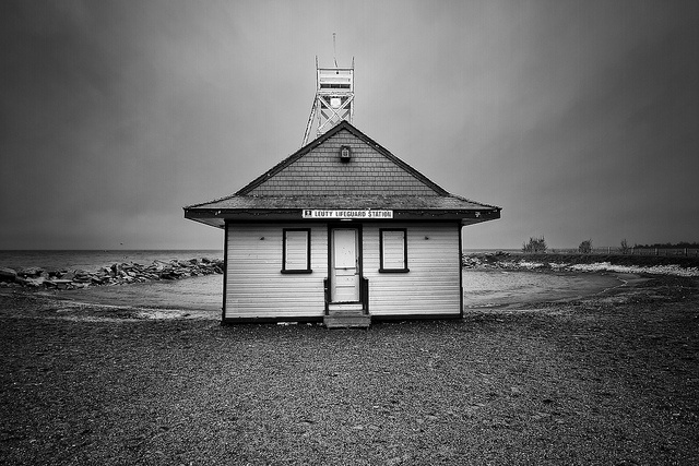 Leuty Lifeguard Station, The Beach, Toronto by Christopher Brian's Photography, via Flickr