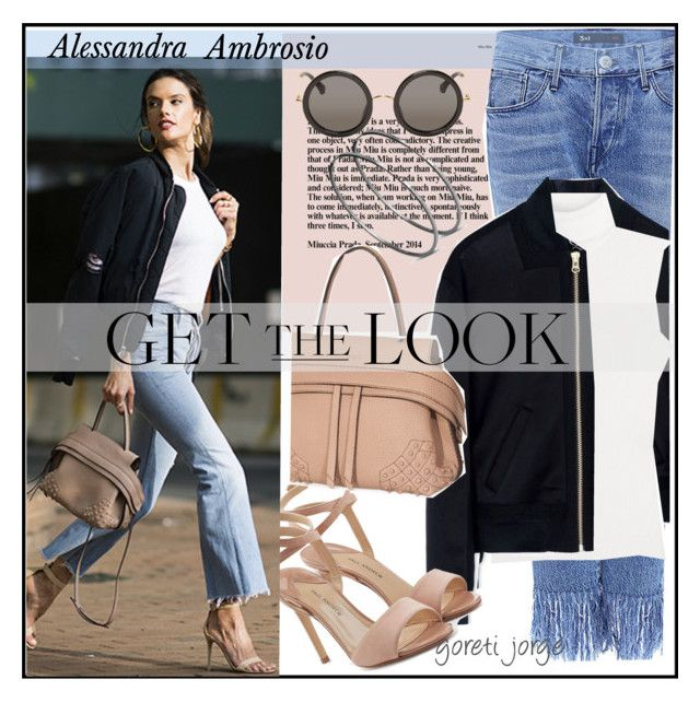 """""""Alessandra Ambrosio"""" by goreti ❤ liked on Polyvore featuring 3x1, McQ by Alexander McQueen, Diane Von Furstenberg, Paul Andrew, Tod's, The Row, GetTheLook, CelebrityStyle and modelstyle"""
