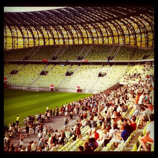 #Euro2012 Football Stadium - #PGEArena #Gdansk inside
