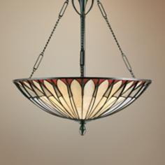 Alhambre Tiffany-Style Pendant Chandelier
