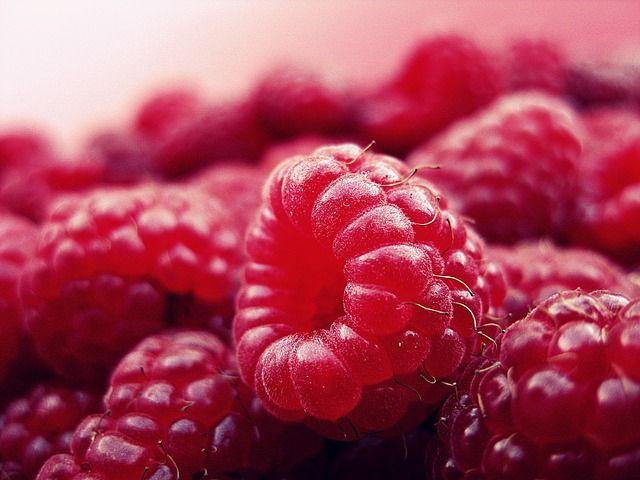 Malina, Ovocie, Čerstvé, Červená, Vitamíny, Zdravé