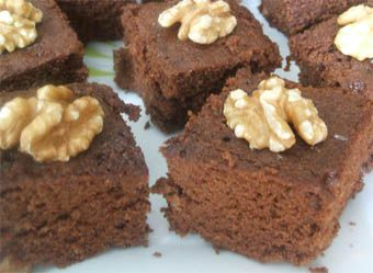 Bizcocho de chocolate al microondas.  Microwave chocolate cake