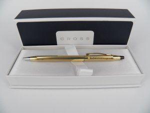MU Cross Classic Century 10CT Gold BP Pen #C4502 Pen Product details  Format:   Category: Logo  Price: AU $149.95