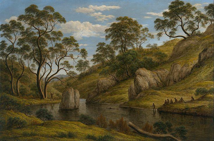 The Bath of Diana - Van Diemen's Land - Tasminia, John Glover
