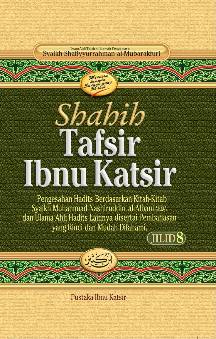 Tafsir Ibnu Katsir merupakan salah satu kitab tafsir yang paling banyak diterima dan tersebar di tengah ummat ini. Imam Ibnu Katsir telah menghabiskan waktu yang sangat lama untuk menyusunnya, tidak mengherankan jika penafsiran beliau sangat kaya dengan riwayat, baik hadits maupun atsar, bahkan hampir seluruh hadits periwayatan dari Imam Ahmad bin Hanbal -rahimahullah- dalam kitab Al Musnad tercantum dalam kitab tafsir ini.