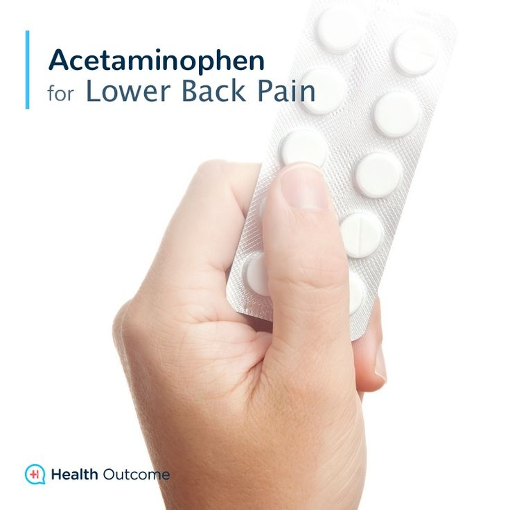 Acetaminophen for Lower Back Pain — Acetaminophen, commonly known as Tylenol®, is an over-the-counter analgesic, pain reducer, and antipyretic, fever reducer that is used to treat mild to moderate pain. Some patients take them instead of NSAIDs because they have fewer side effects. Acetaminophen will not reduce inflammation. #backpain #lowerbackpain