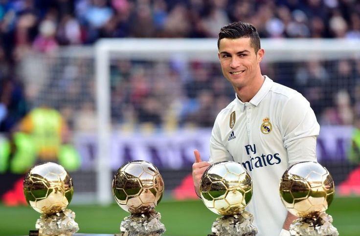 Cristiano Ronaldo sells one of his Ballon d'Ors